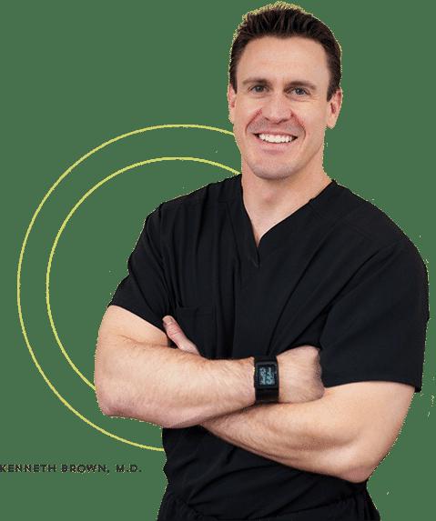 Dr. Kenneth Brown, gastroenterologist