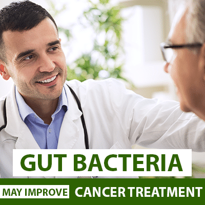 Gut Microbes Improve Cancer Therapy