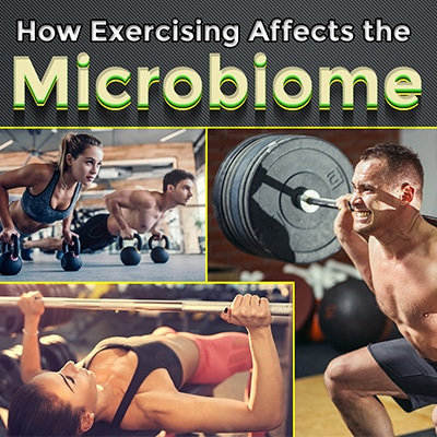 Exercising Affects the Microbiome