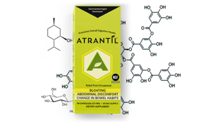 Atrantil Bottle science