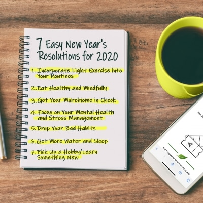 7 Easy New Years Resolutions for 2020