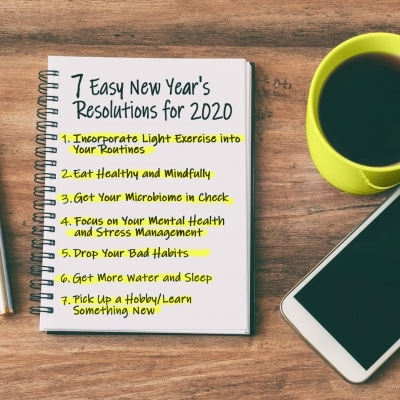 7 Easy New Year's Resolutions